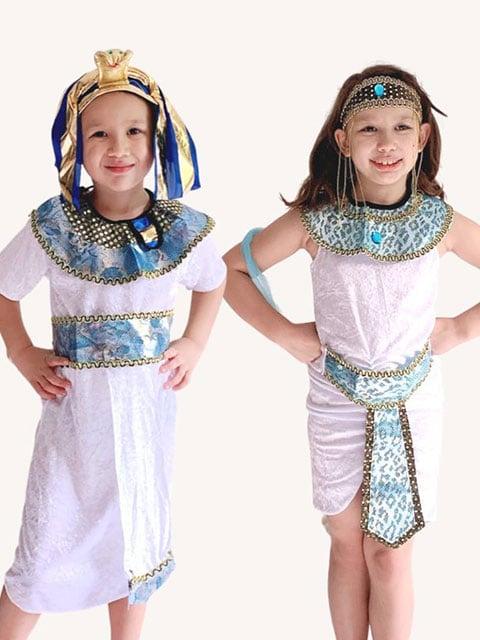 Egyptian Princess and Prince costume