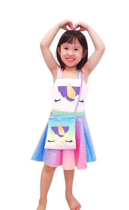 Unicorn with Bag Costume