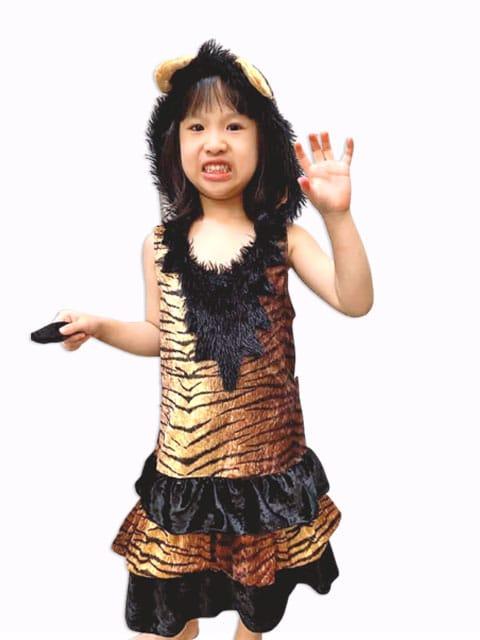 Children Tiger Dress