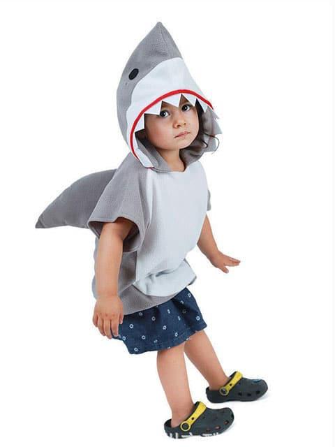 Shark animal costume for children