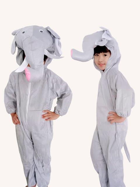 Elephant plush Jumpsuit Costume