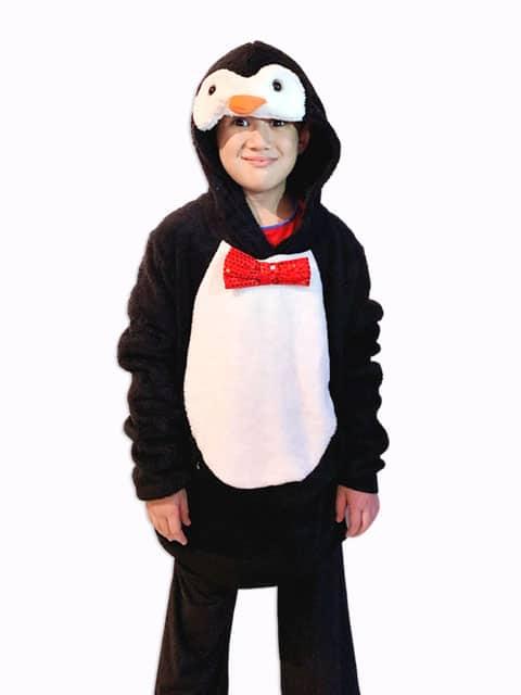 Fluffy Penguin pullover