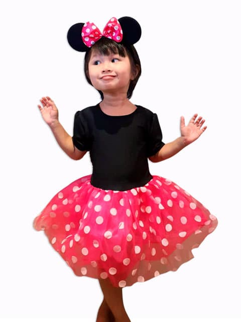 Minnie Mouse dress Costume for children