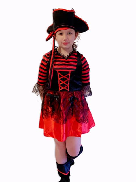 Pirate Girl Costume