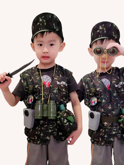 LS Military Vest child
