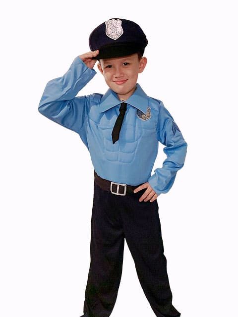 Muscle Police Costume