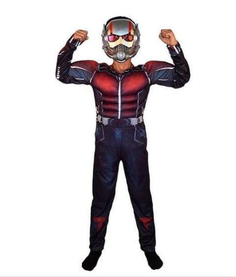 Antman marvel super hero costume For children