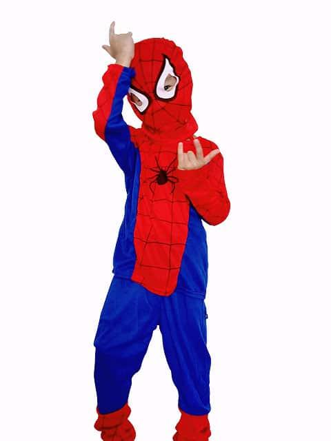 The magnificent Spiderman Costume