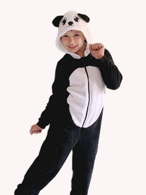 Panda Onesie plush Jumpsuit Costume