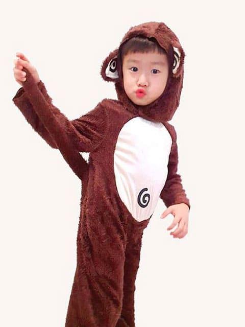 Toddler monkey Costume.