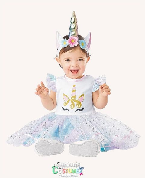 Baby Unicorn Costume theme