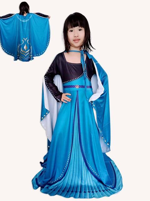 Princess Anna Short with Cape costume