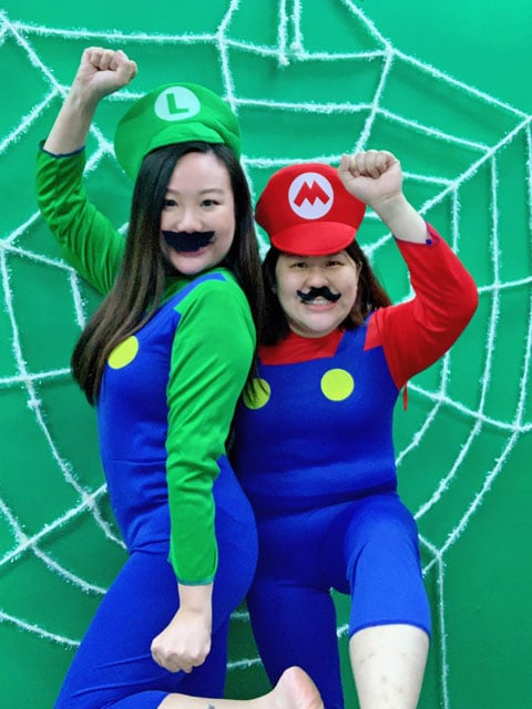 Mario Bros costume Set characters