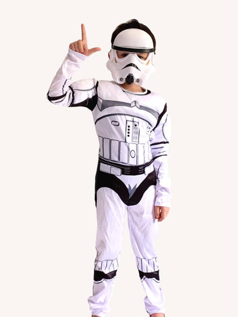 Stormtrooper Muscles Costume