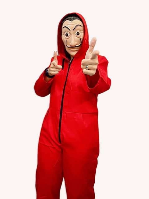 Money Heist Adult Costume