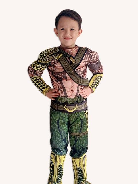 Aquaman Muscles Costume,