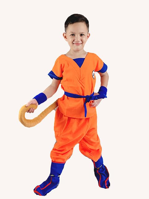 Dragon Ball Z with Tail Costume