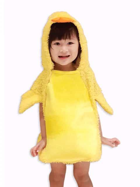 Yellow Duck Costume.