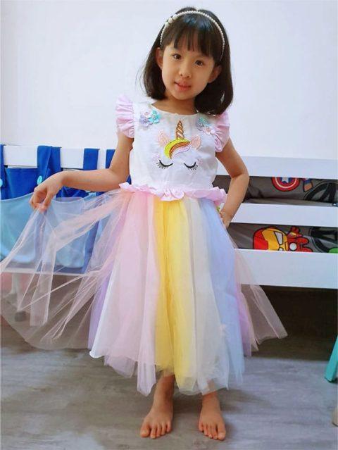 Eyelash Unicorn Dress