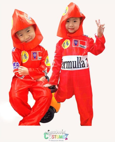 F1 Car Race Driver Costume