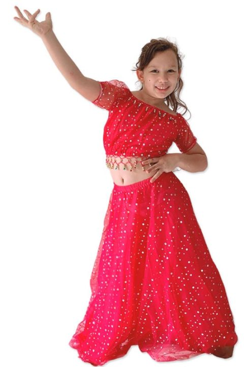 Indian Girl Traditional dress with skirt