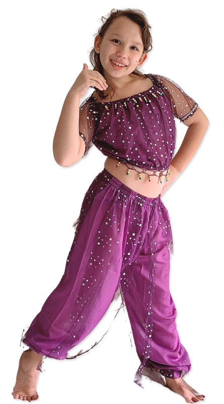 Indian Girl Traditional dress with pants