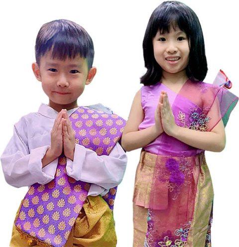 Thai Traditional dress for children