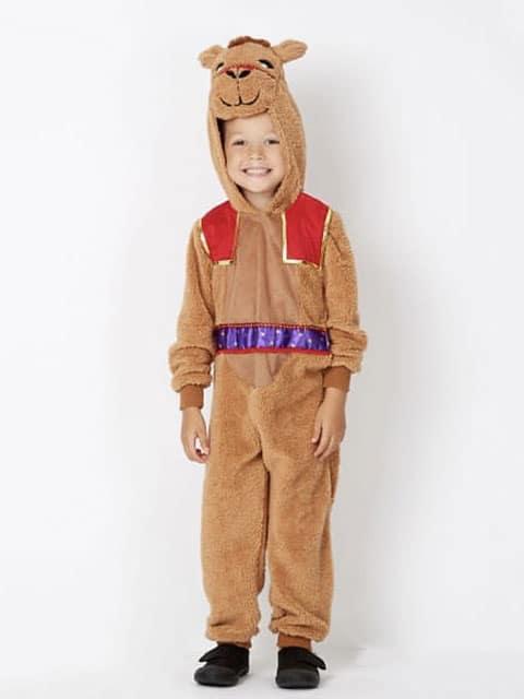 camel plush jumpsuit costumes for children