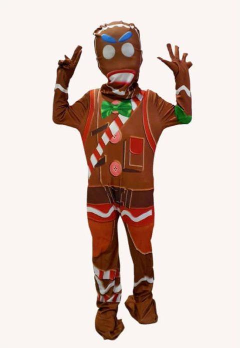 Gingerbread Man jumpsuit costumes