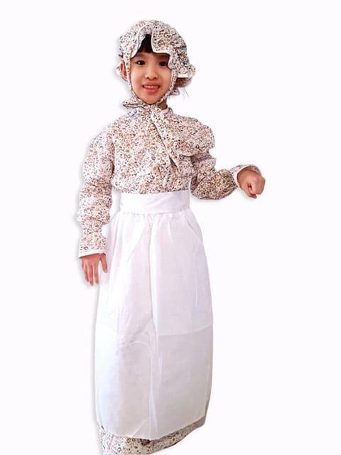 Granny dress costume for children