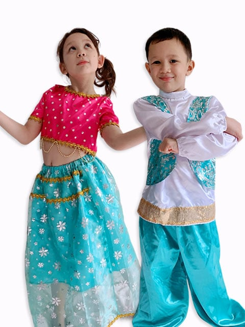 Indian Modern Outfit for kids Singapore