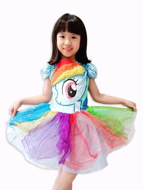 My Little Pony theme dress