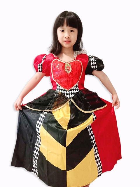 Red Queen of Alice in Wonderland Costume