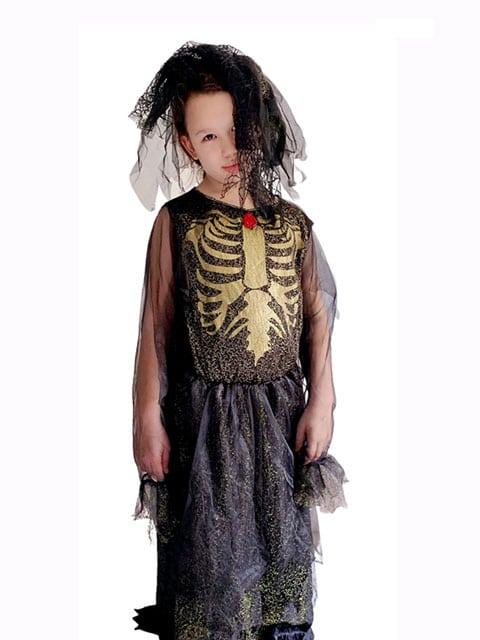 Skeleton Ghost Bride dress