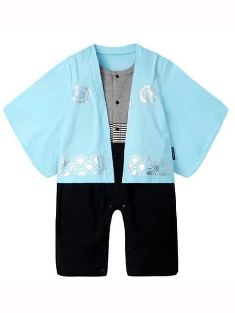 Blue Lake Kimono for toddler