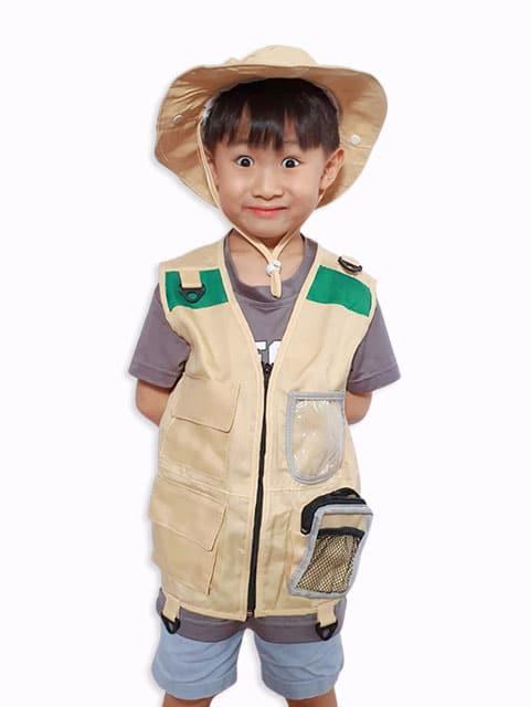 Explorer/Zookeeper costume