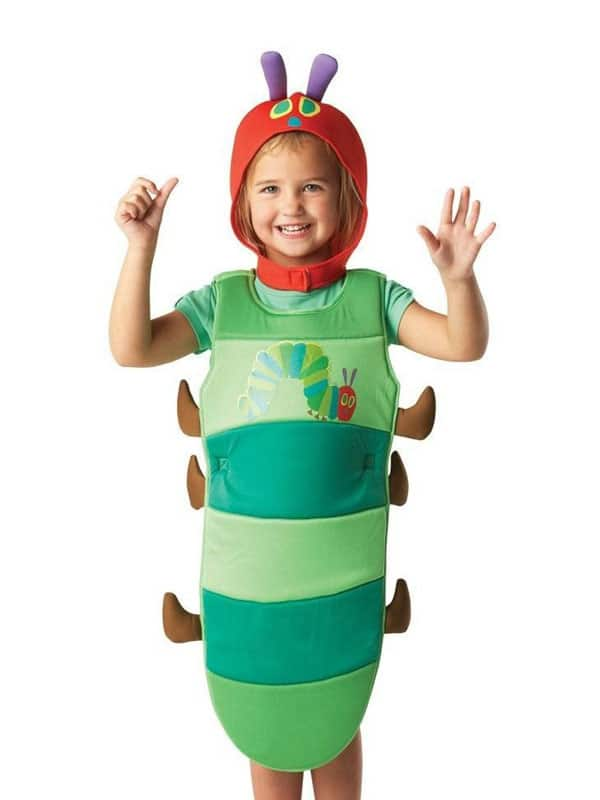 Caterpillar Suit costume bring children in the insect universe