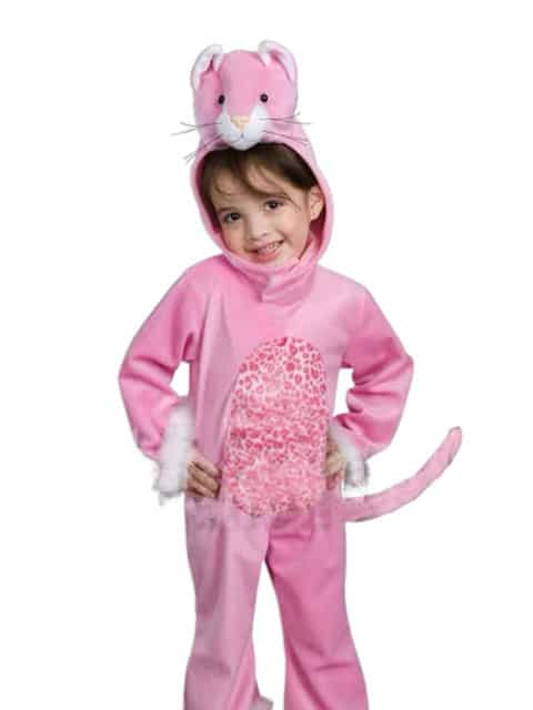 Toddler kitty costume transform girl in cute furry animal character