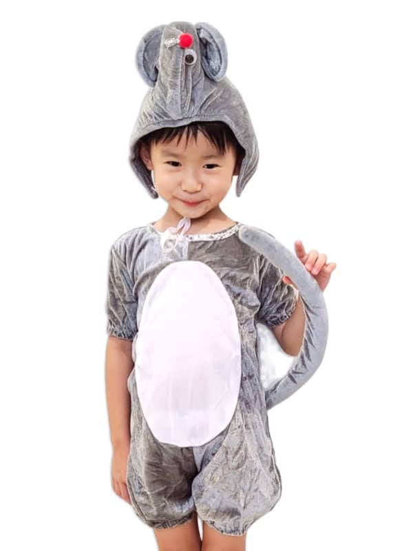 Squeaky Mouse costume. Transform your kids in gentle rodent character.