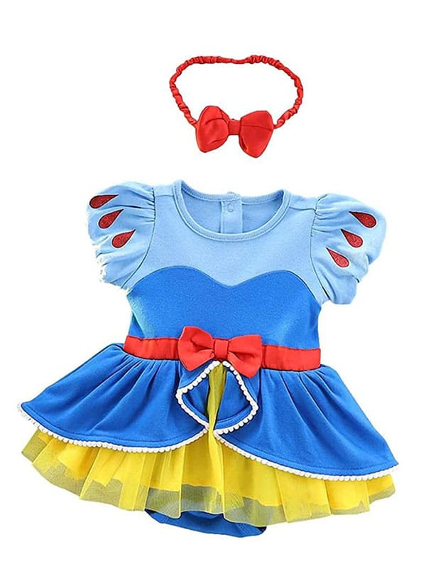 Baby Snow White Dress for infant of 6 to 18 months.