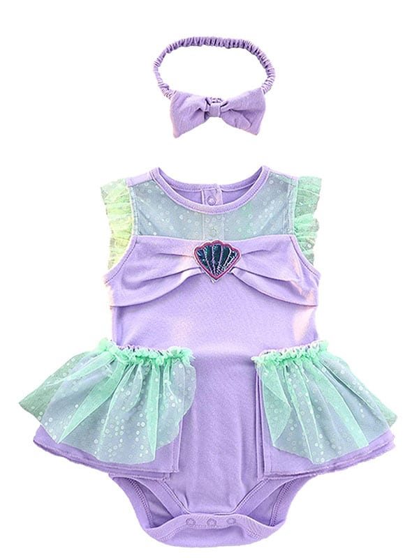 Baby ariel Dress for infant of 6 to 18 months.