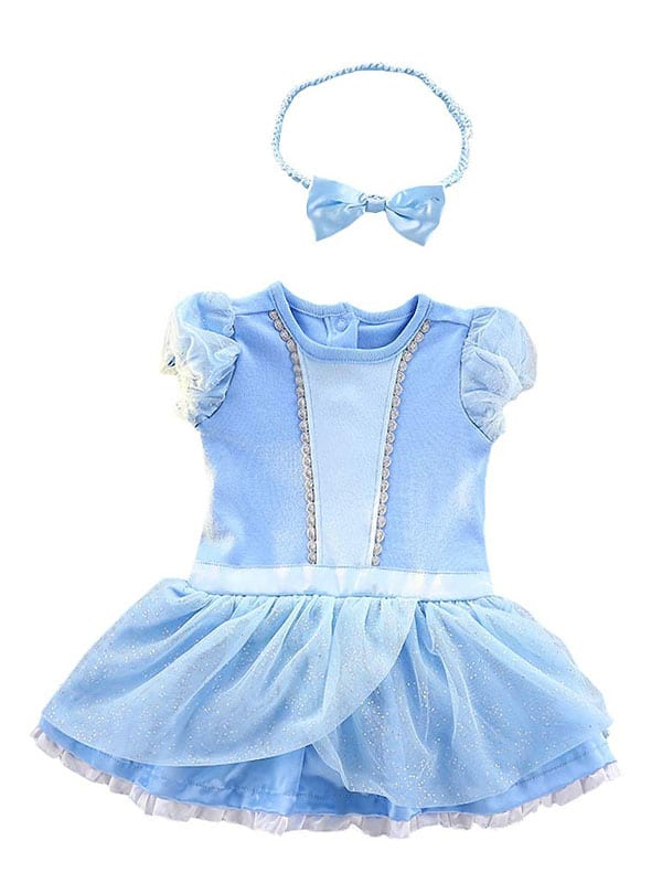 Baby cinderella Dress for infant of 6 to 18 months.