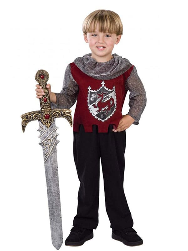 Toddler Knight is the must have warrior from the past costume