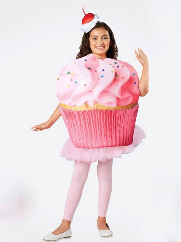 Cupcake costume is a sweet way to celebrate Halloween with icing