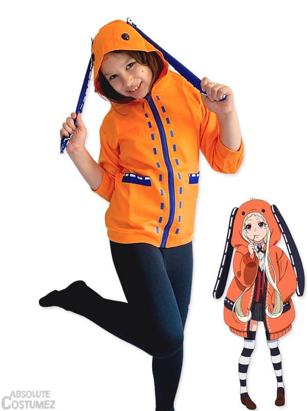 Kakegurui - Runa costume for children 6 to 9 years old