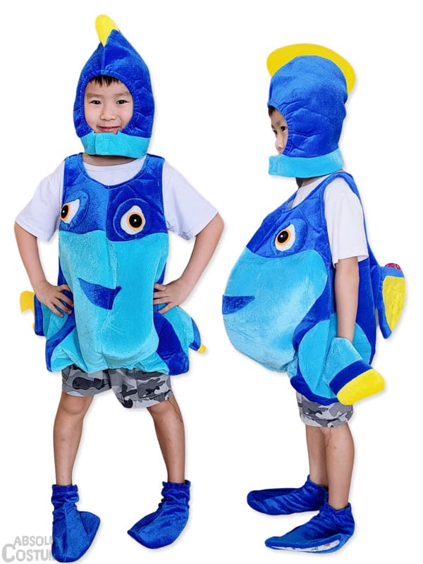 Dory from the Disney Finding Nemo movie costume.