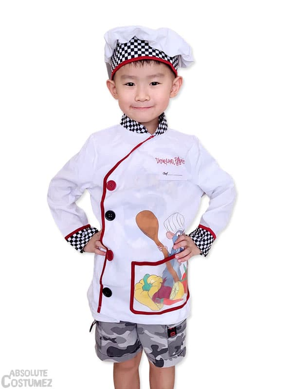 Chef Ratatouille from the Disney movie character costume