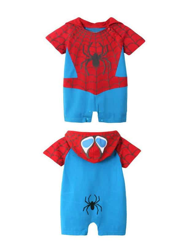Baby spiderman costume bring kids of 6 to 18 months