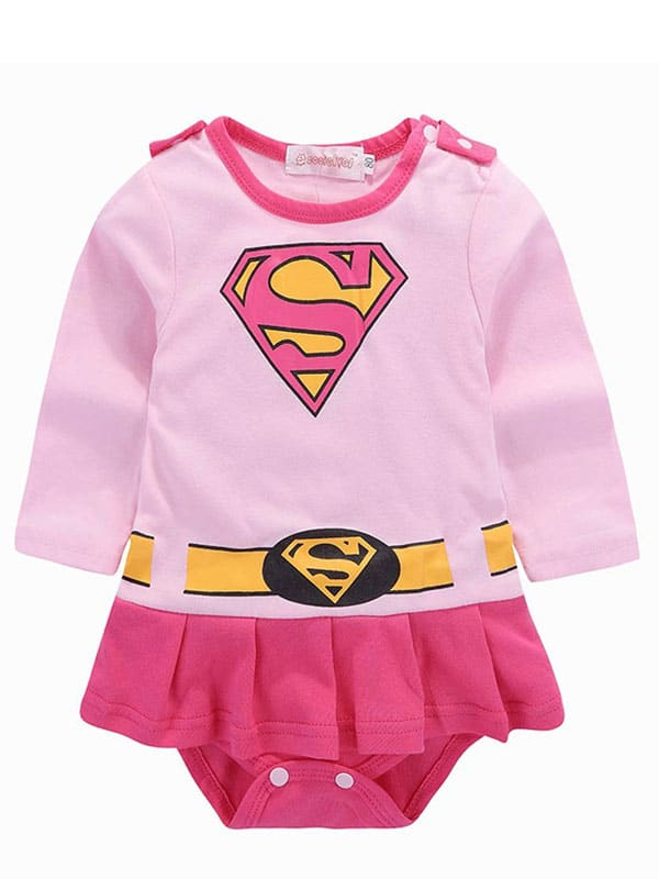 Baby super girl costume bring girl of 6 to 18 months