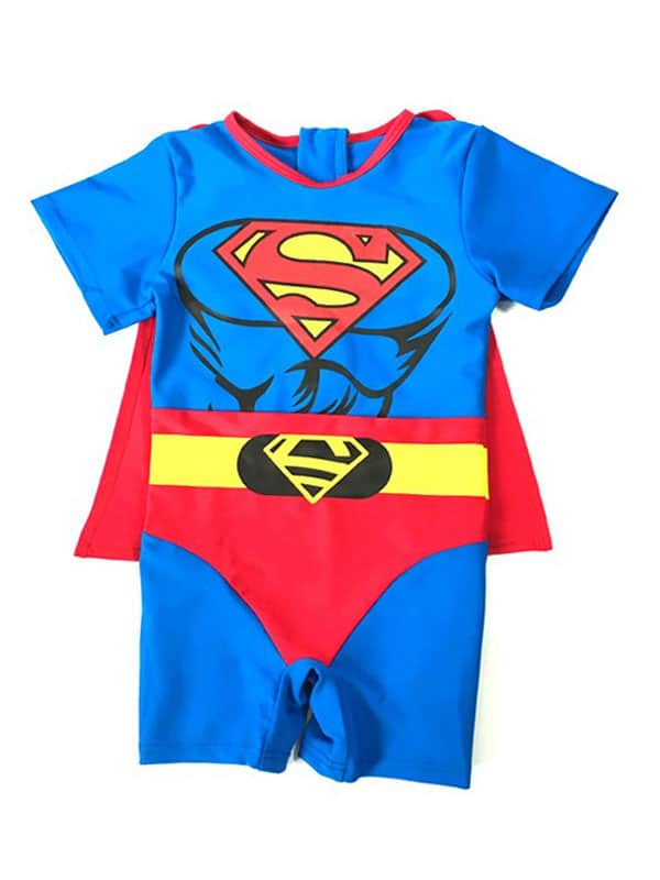 Baby superman costume bring boys of 6 to 18 months